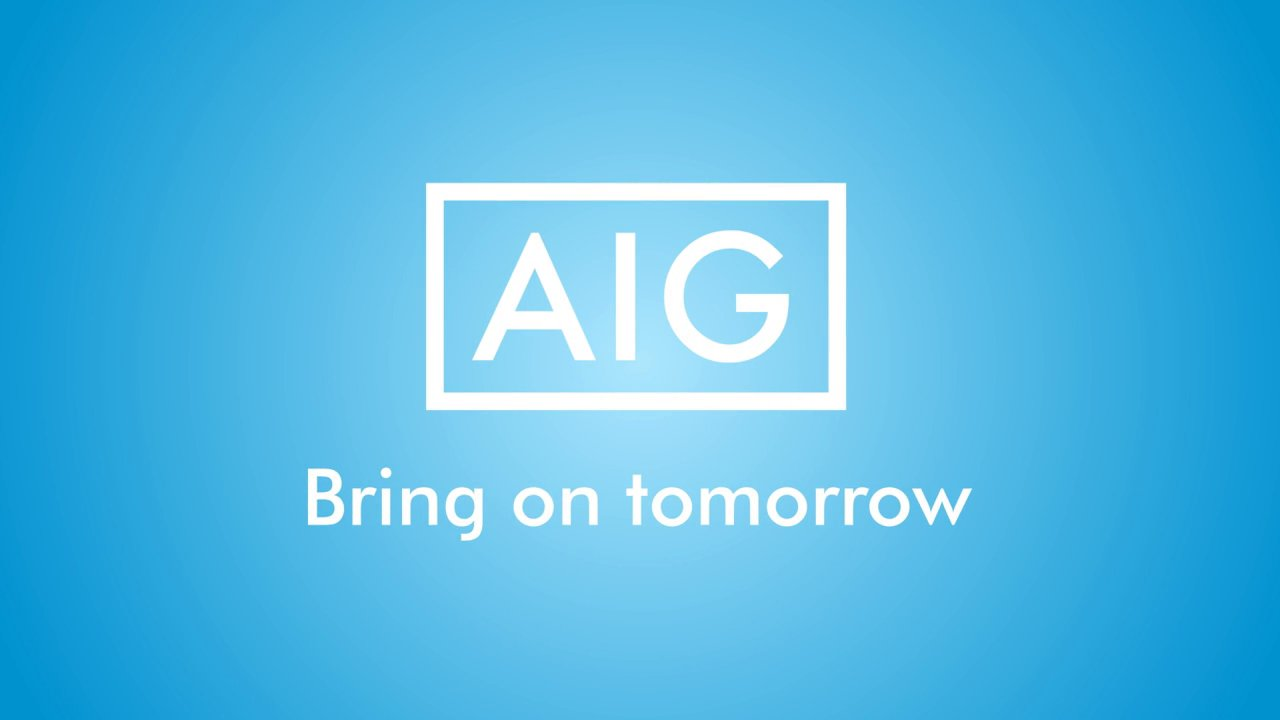 AIG bring tomorrow